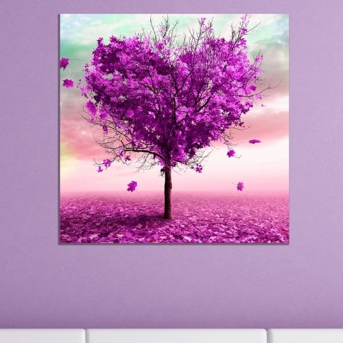 Wall art decoration Love tree abstract