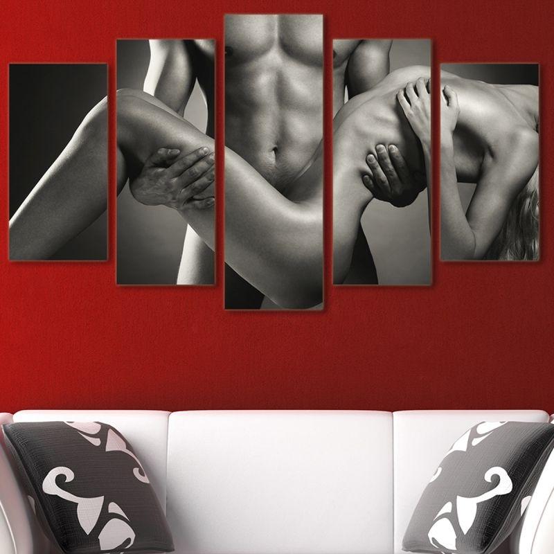 erotic naked bodies paintings