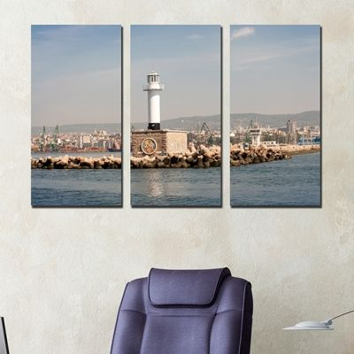 0251 Wall art decoration (set of 3 pieces) Varna, Bulgaria