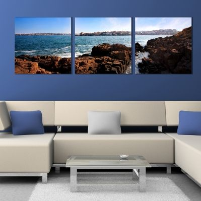 0256 Wall art decoration (set of 3 pieces) Sozopol, Bulgaria