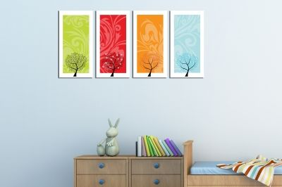 Wall art for kids room
