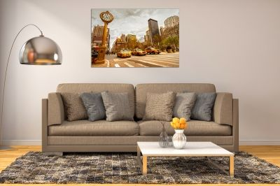 Canvas wall art cityscape New York 5th avenue