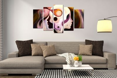 Canvas art for home decoration beautiful colorful essence