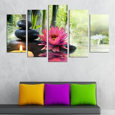 Canvas art set Fenk sui