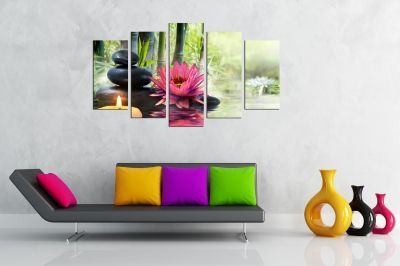 Zen canvas art Fenk sui