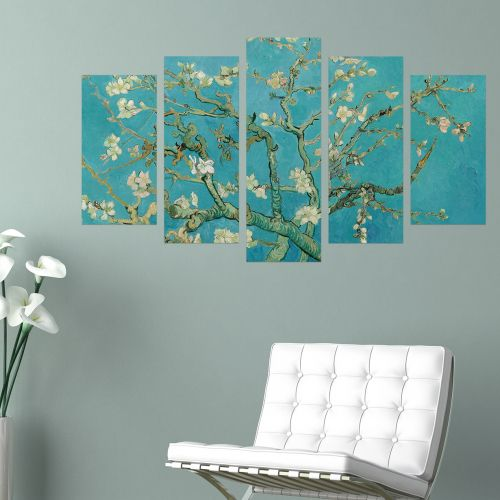 R013 - Almond Blossom by Vincent van Gogh (1, 3 or 5 pieces)