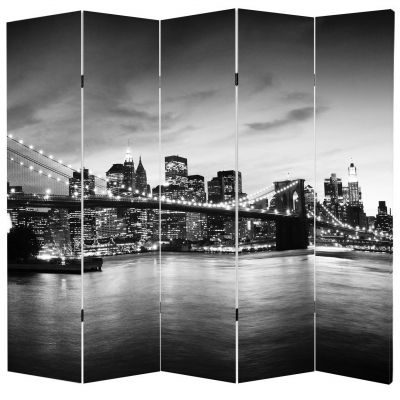 P0157 Декоративен параван New York, Brooklyn Bridge (3, 4 , 5 или 6 части)