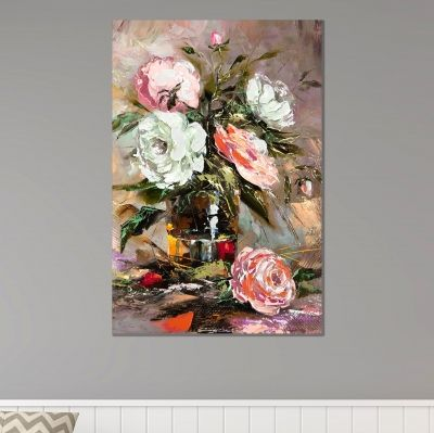 0005_1 Wall art decoration Art roses