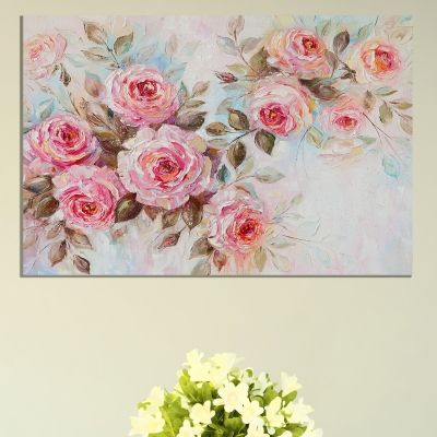 9060_1 Wall art decoration Vintage roses
