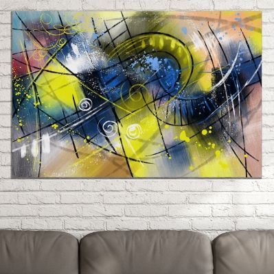 0780 Wall art decoration Colorful abstraction