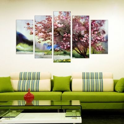 Canvas wall art decoration