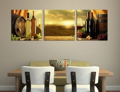 set of 3 pieces wall decoration
